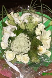 Lily bouquet rond marrakech